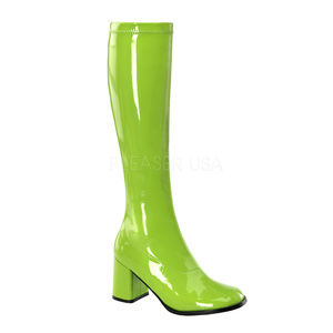 Shoes - High Heel Gogo Knee High Boots Festival Cosplay